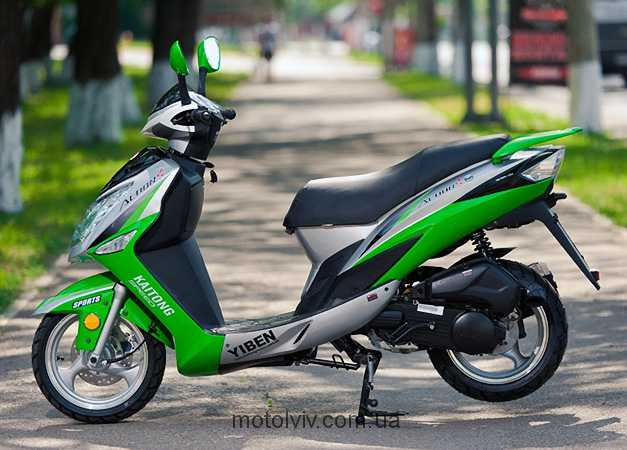 мотоцикл Львов YB50QT-15J