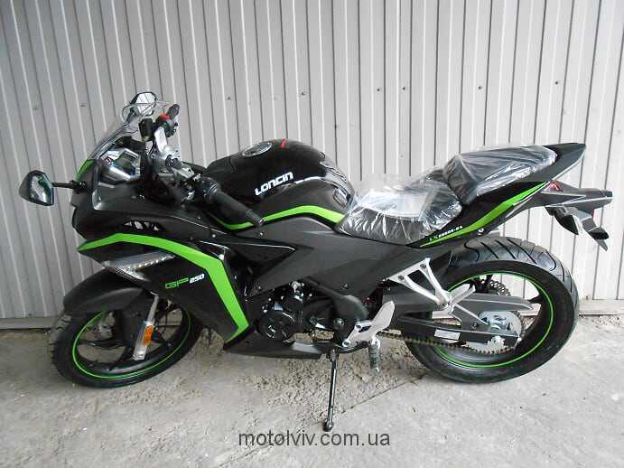 Мотоцикл Loncin LX250GS-2A GP250 фото.